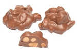 Asher's Sugar Free Milk Chocolate Peanut Clusters