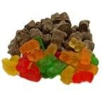 Weaver Chocolates Milk Chocolate Covered Gummy Bear