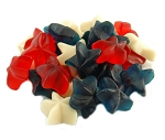 Land Of The Gummies Patriotic Star (Red, White & Blue)