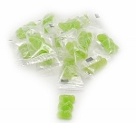 Land of the Gummies Green Gummy Bears Individually Wrapped
