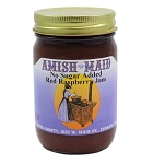 Amish Maid No Sugar Added Red Raspberry Jam 12 oz