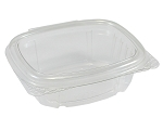 Genpak Container Clear Hinged 4 oz