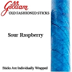 Gilliam Candy Old Fashioned Sour Blue Raspberry Stick