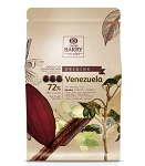 Cacao Barry Venezuela 72% Origine Rare Dark Callets CHD-P72VEN-529