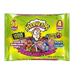 Impact Confections Warheads Mixed Candy 20 oz lay down bag