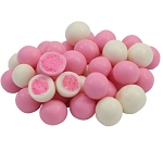 Necco Strawberry Mighty Malt Balls