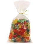 Land Of The Gummies 6 Flavor Gummy Bear 14 oz Twist Bags