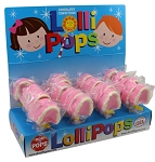 Mom 'n Pops Teeth Chocolate Flavored Pops Counter Display