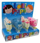 Mom 'n Pops Baby Chocolate Flavored Pops Counter Display