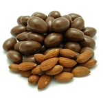 Weaver Chocolates NSA Milk Chocolate Coating Covered Almond