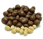 Weaver Chocolates NSA Milk Chocolate Coating Covered Peanut