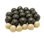 Weaver Chocolates RS Dark Chocolate Coating Covered Malt Ball