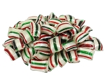 Cavaliers Red & Green Striped Mints