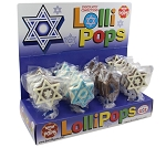 Mom 'n Pops Hanukkah Chocolate Flavored Pops Counter Display