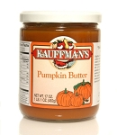 Kauffman's Pumpkin Butter with Sugar Added 17 oz Jars