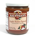 Kauffman's No Sugar Added Apple Butter with Spice 17 oz Jars