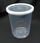 Round Container 32 oz Deli Clear