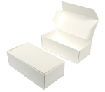 White Candy Boxes 1/2 pound 5.5