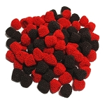 Jelly Belly Gummi Raspberries and Blackberries