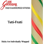 Gilliam Candy Old Fashioned Tutti-Frutti Stick