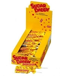 Charms Sugar Daddy Jr Wrapped Lollipops 48CT