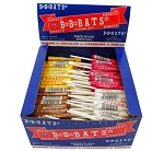 Runk Candy Old Fashioned BB Bats Assorted Box Wrapped