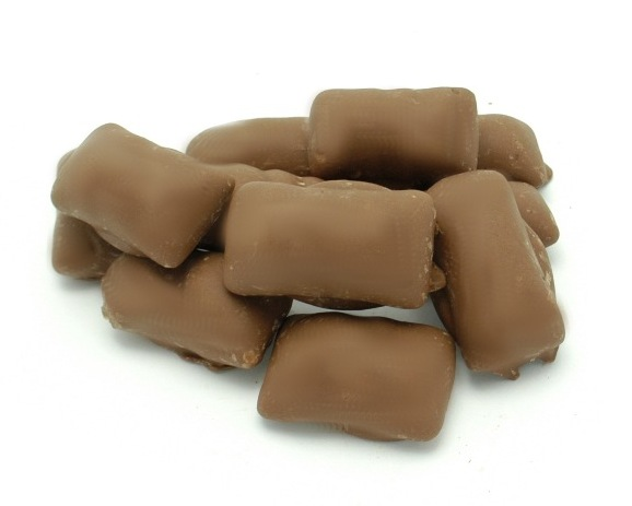 Milk Chocolate Covered Sugar Free Peanut Butter Bolster