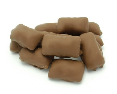 Milk Chocolate Covered Peanut Butter Bolster