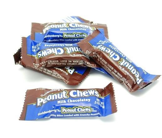 ... > Candy Bars > Just Born Goldenberg Milk Chocolate Mini Peanut Chews
