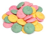 Guittard Smooth and Melty Assorted Pastel Mint Wafers