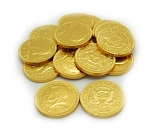 Weaver Chocolates Gold Foil Coin Pure Milk Chocolate