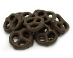 Weaver Chocolates Dark Chocolate Flv. Covered Mini Pretzel