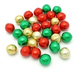 Madelaine Pure Milk Chocolate Christmas Balls