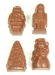 Asher's Milk Chocolate Peanut Butter Christmas Pals