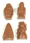 Asher's Sugar Free Milk Chocolate Peanut Butter Christmas Pals