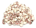 Guittard Petite White Christmas Mint w/ Red & Green Seeds