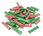 Plantation Red & Green Chocolate Straws