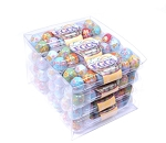 Madelaine Solid Milk Chocolate Miniature Egg Crates