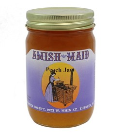 Amish Maid Peach Jam 12 oz