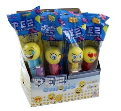 Pez Emojis Counter Display 12 ct