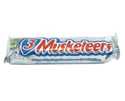 M&M Mars 3 Musketeers Bar 1.92 oz