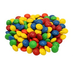 Milk Chocolate Assorted Buttons 25 LB