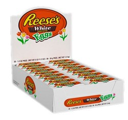 Reese's Peanut Butter White Chocolate Eggs 1.2 oz