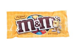 M&M Mars Peanut M&Ms 1.74 oz