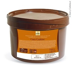 Cacao Barry Cara Crakine Inclusion for Filling Truffles (toasted biscuit cereals and caramel milk chocolate) FNF-X32CARACR-656
