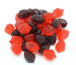 Land Of The Gummies Red And Black Gummy Raspberry