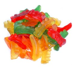 Land Of The Gummies Gummy Assorted Colors Teeth