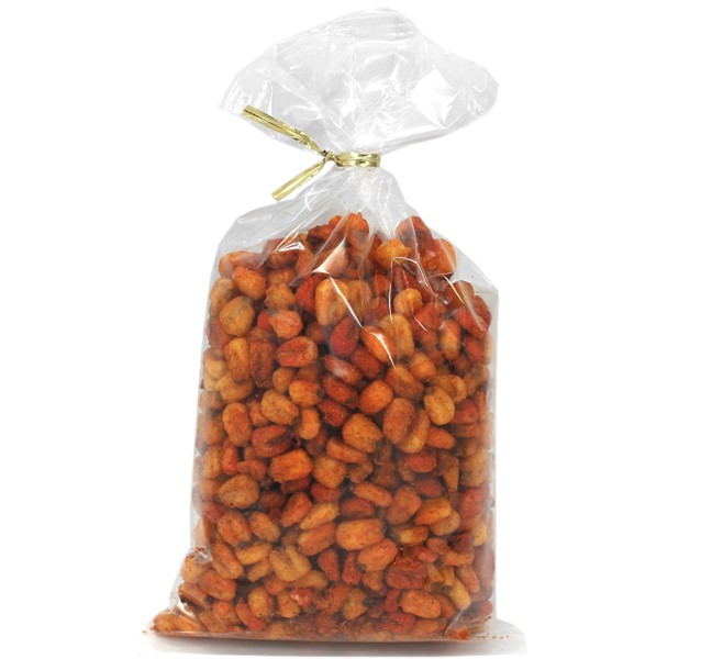 Spicy Corn Nut Mix 8 oz Twist Bags