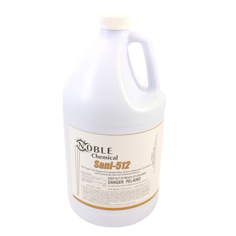 Noble Chemical Sani-512  Sanitizer / Disinfectant