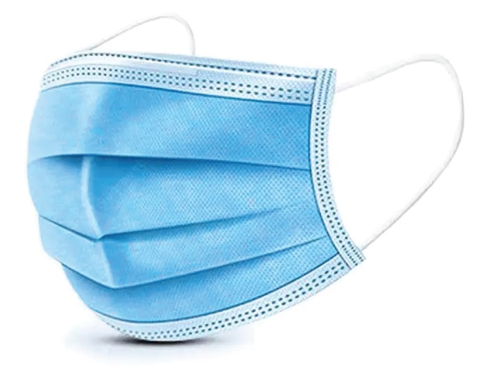 Disposable Protective 3 Layer (blue) Masks